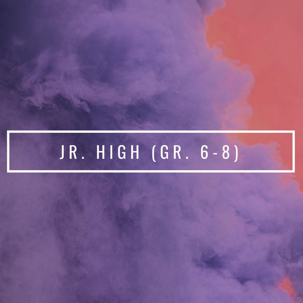 Jr High Youth